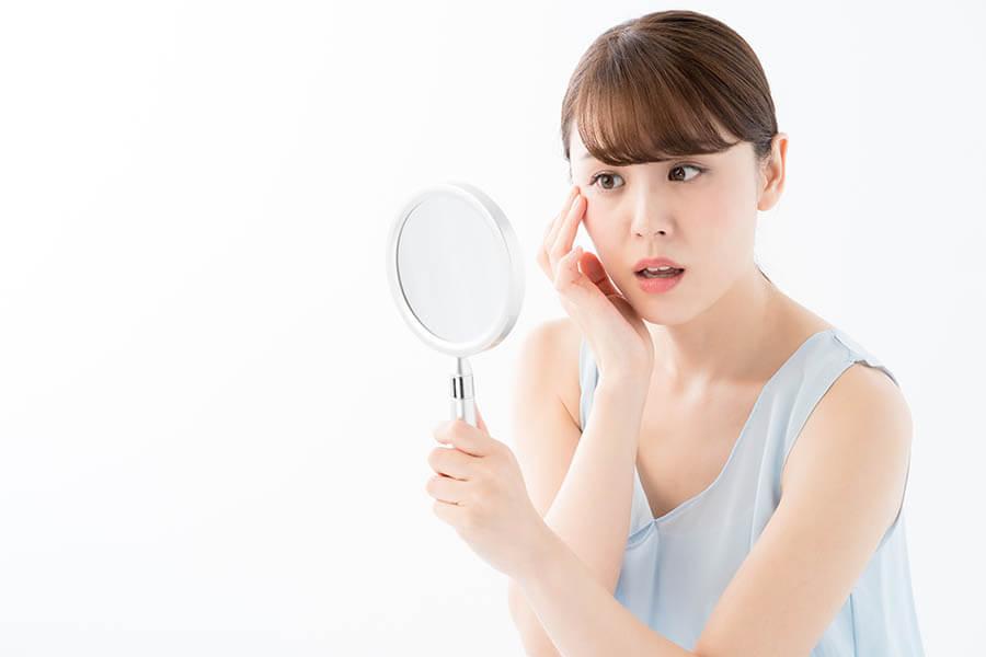 毛嚢炎、ニキビ等のリスク